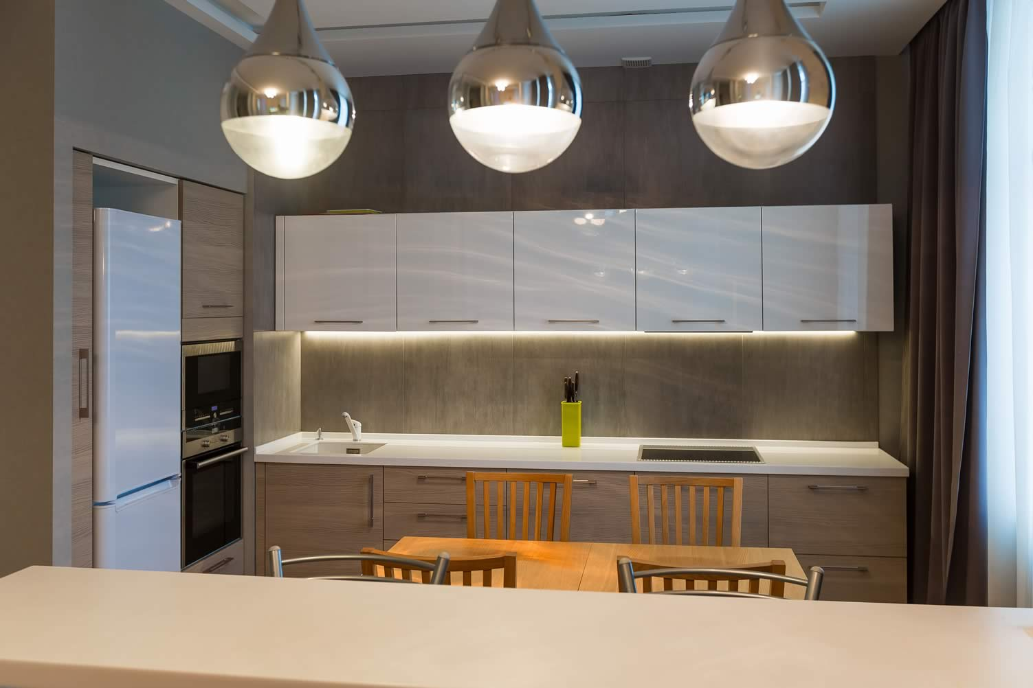 modern dining lighting