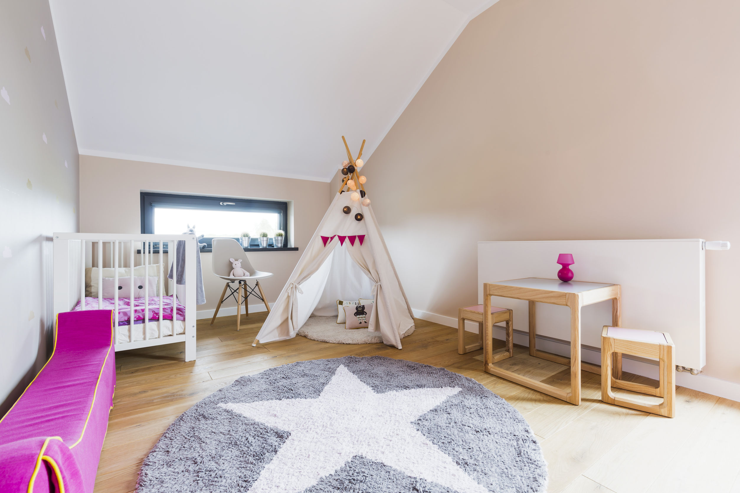 attic play area