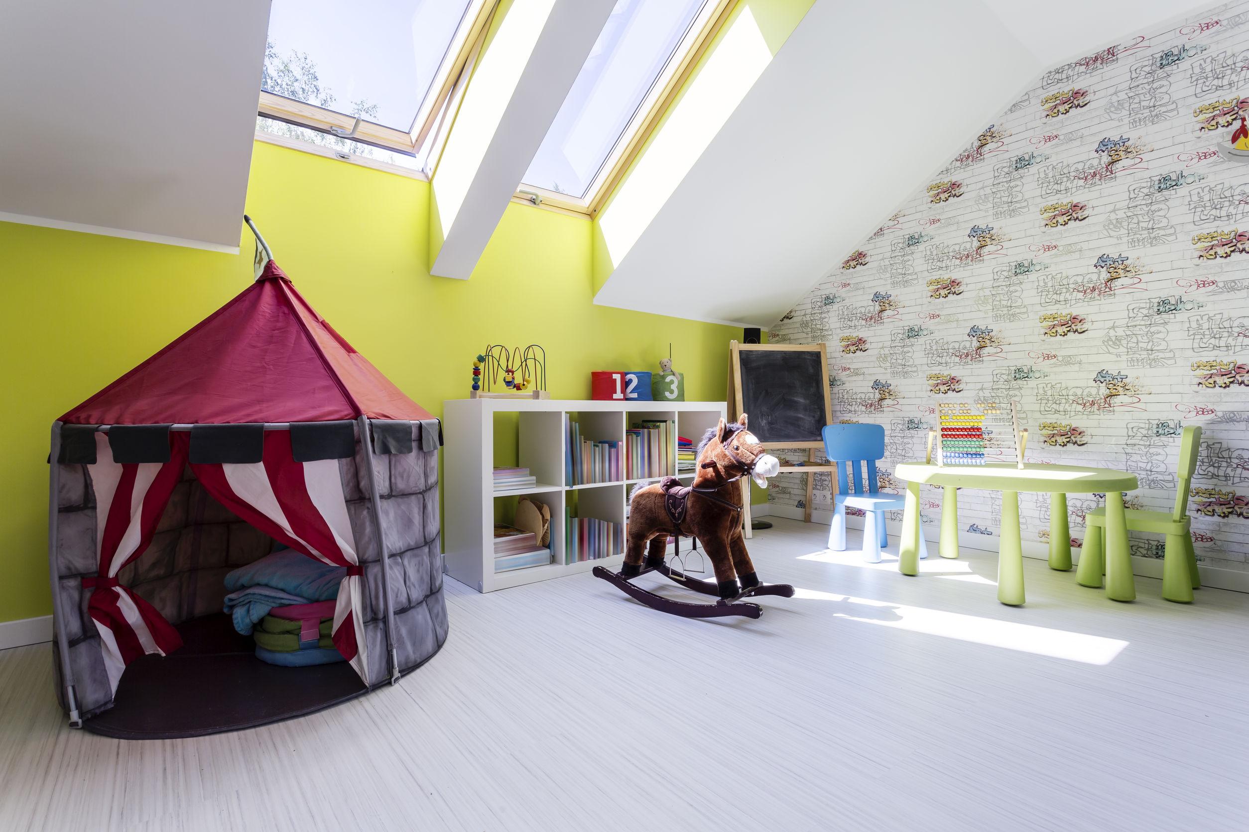 attic playground