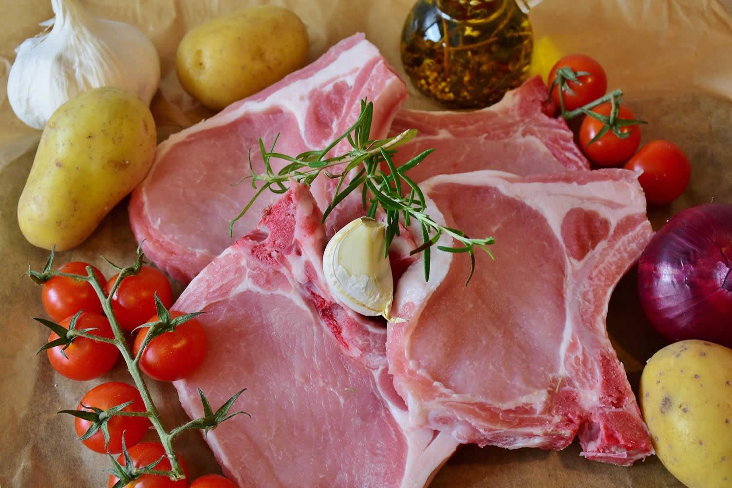 cooking pork