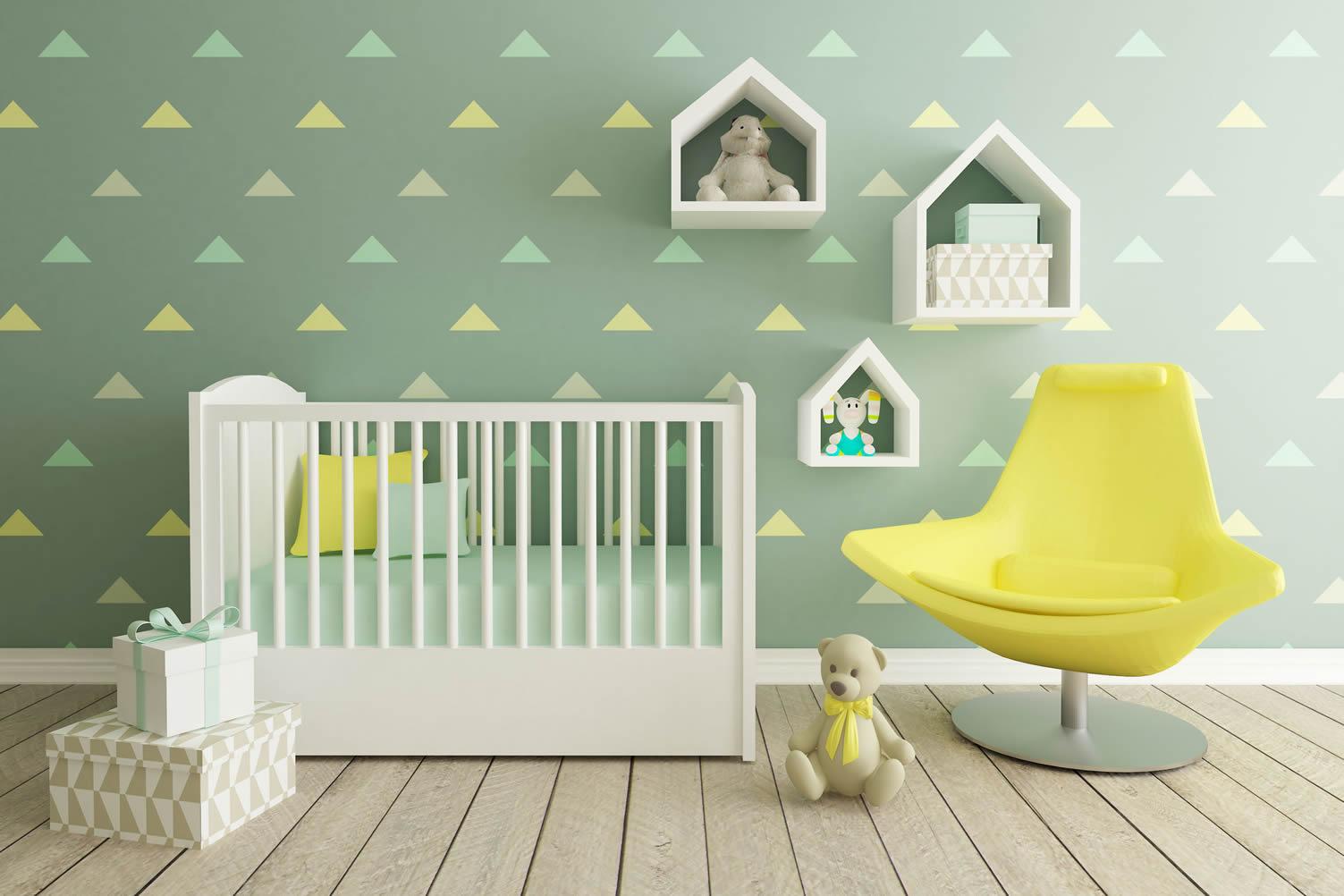 decorate nursery room
