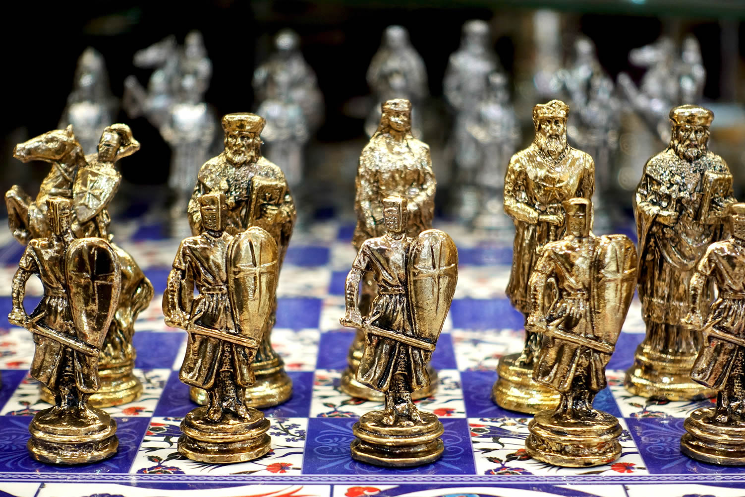 gold chess set