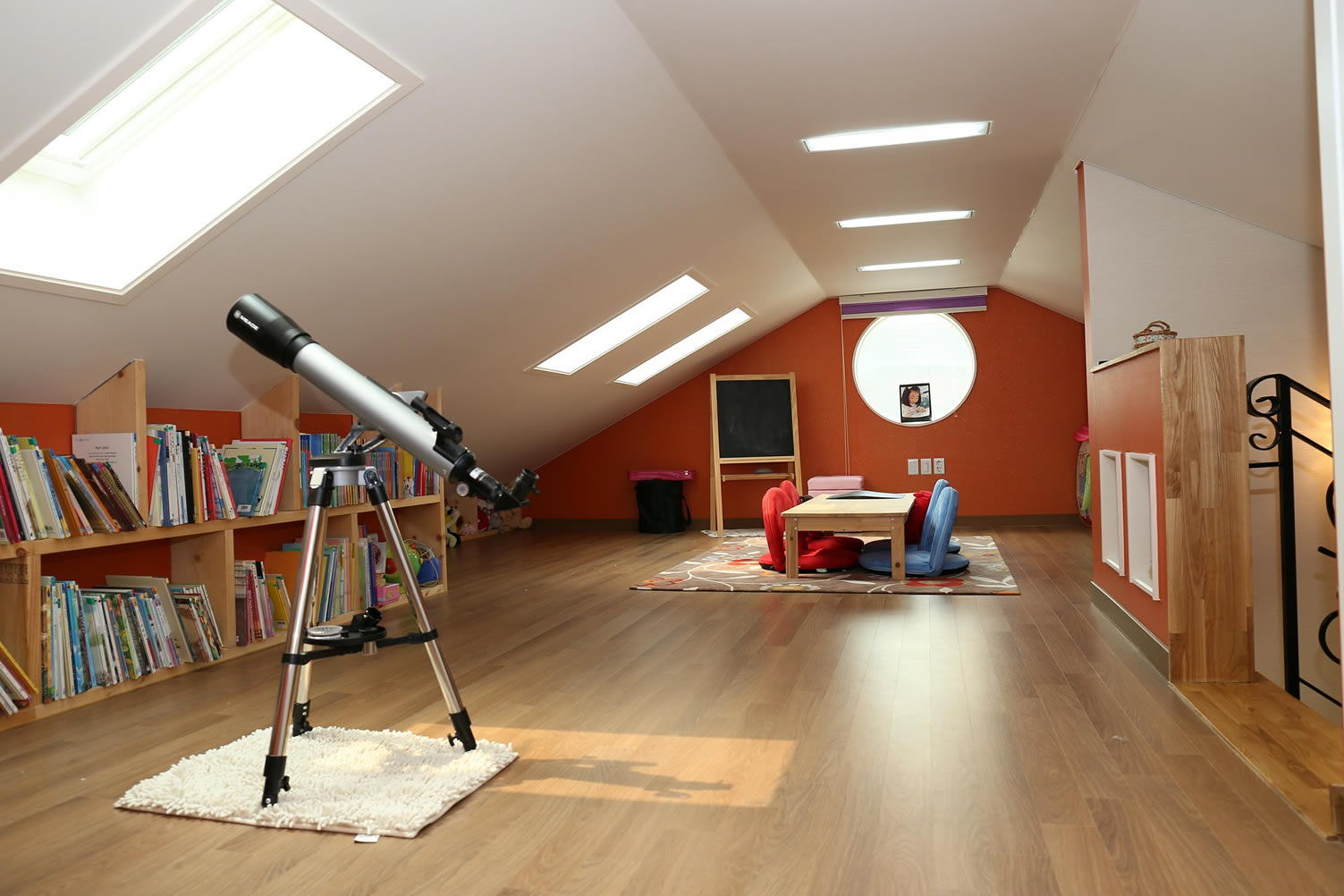 attic study room