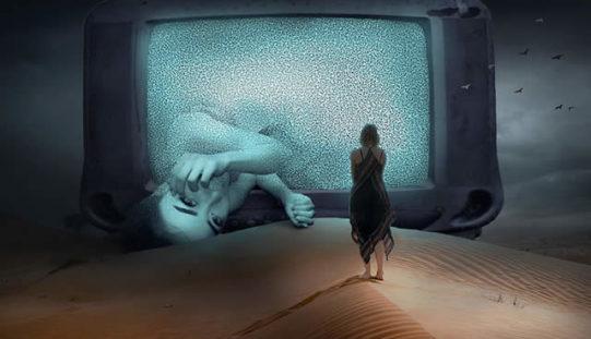 Big Screen TV On The Wall – Make It Look Stylish