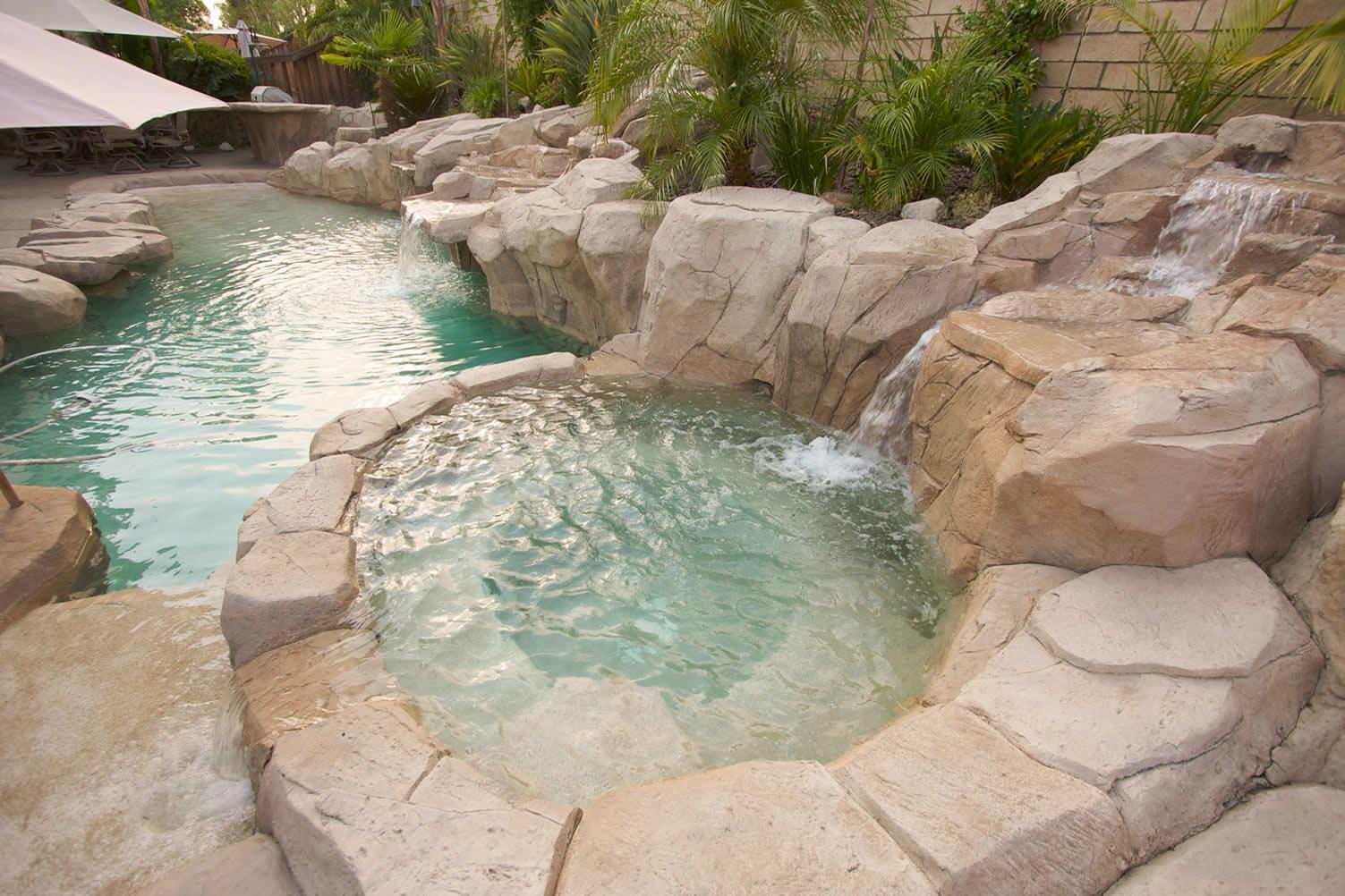 Rock Swimming Pool