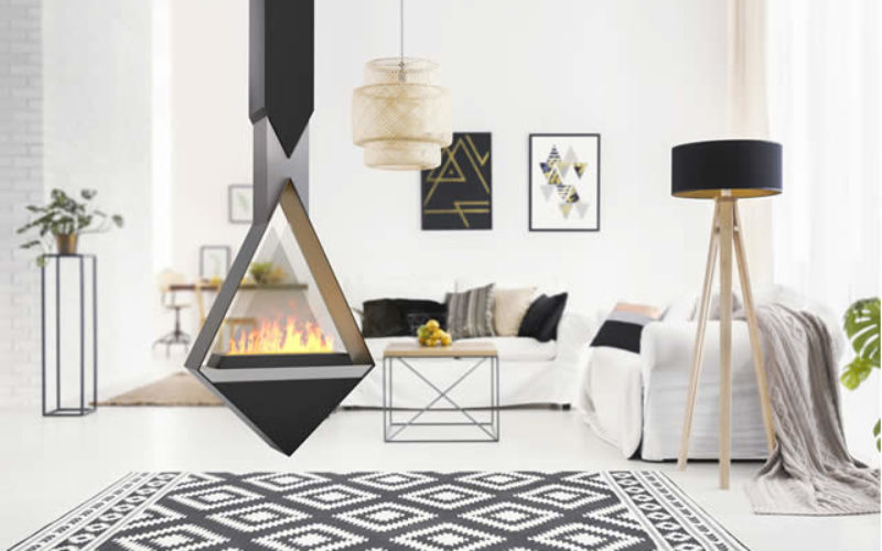 Surround Metal Fireplaces – View From All Angles