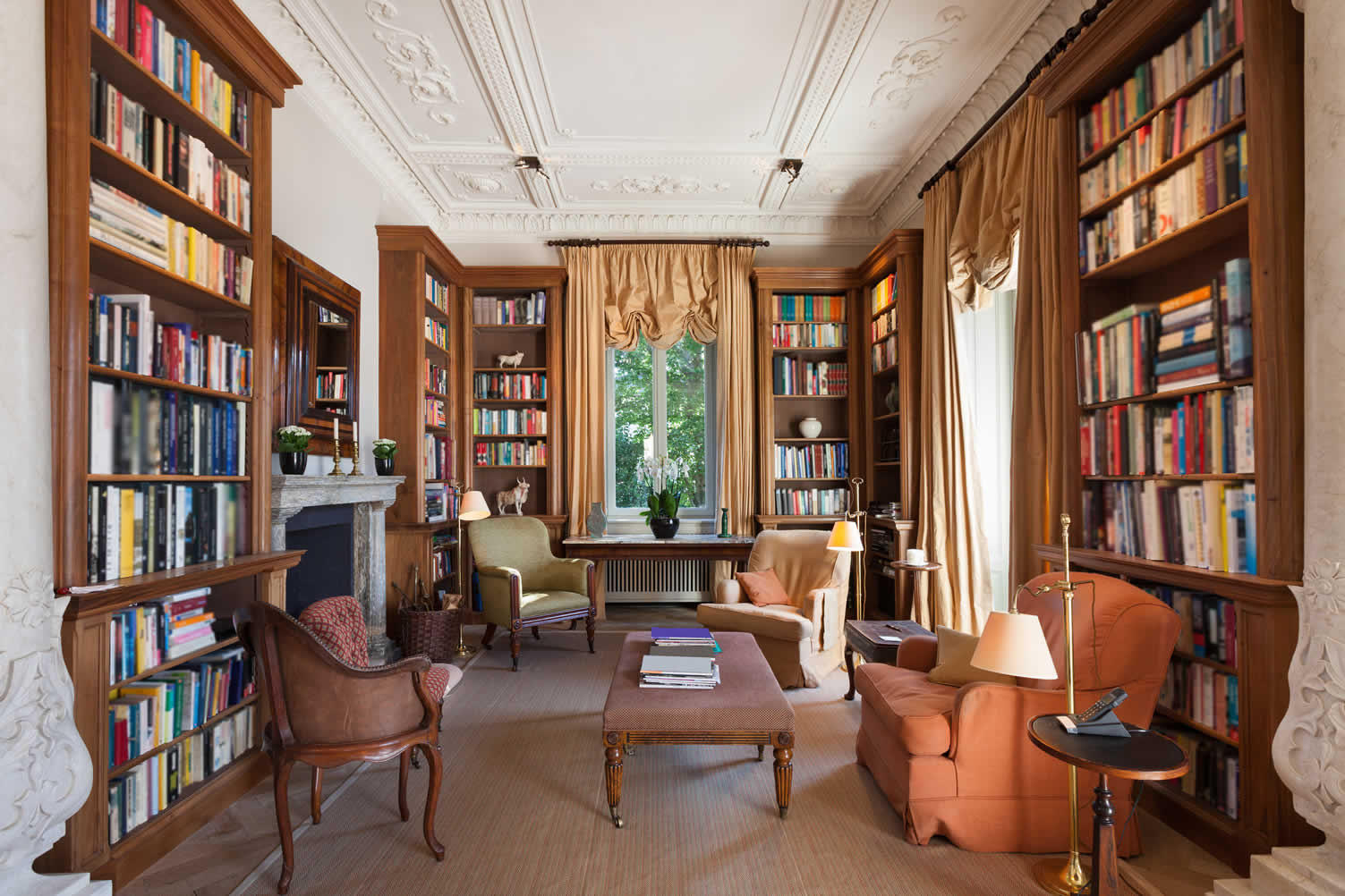 intellectual home library
