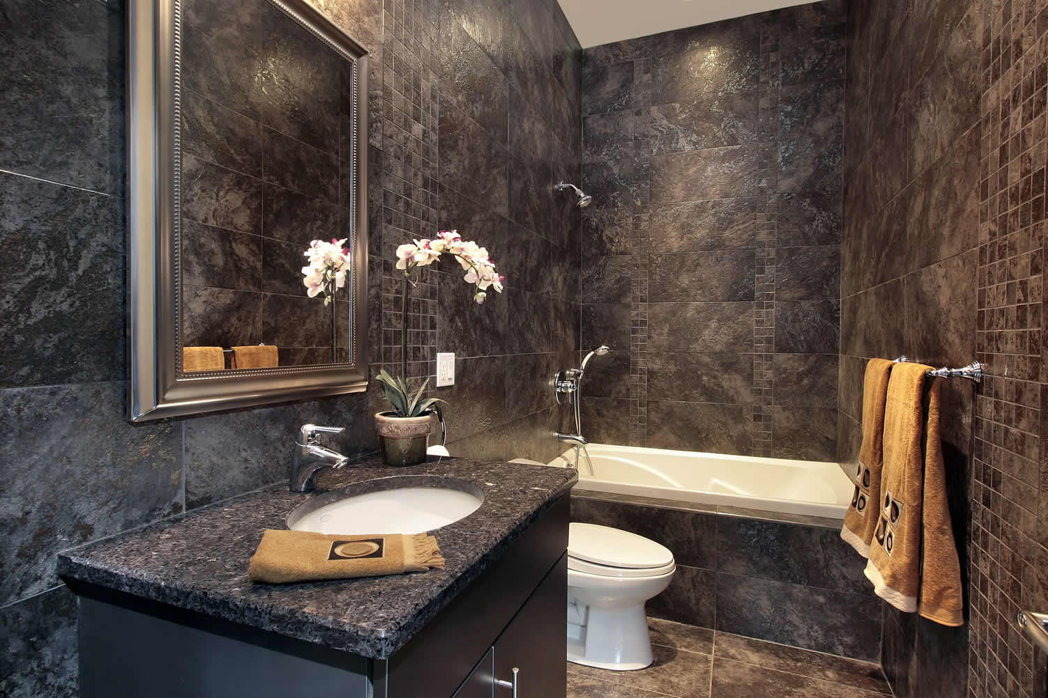 powder bathroom luxurious