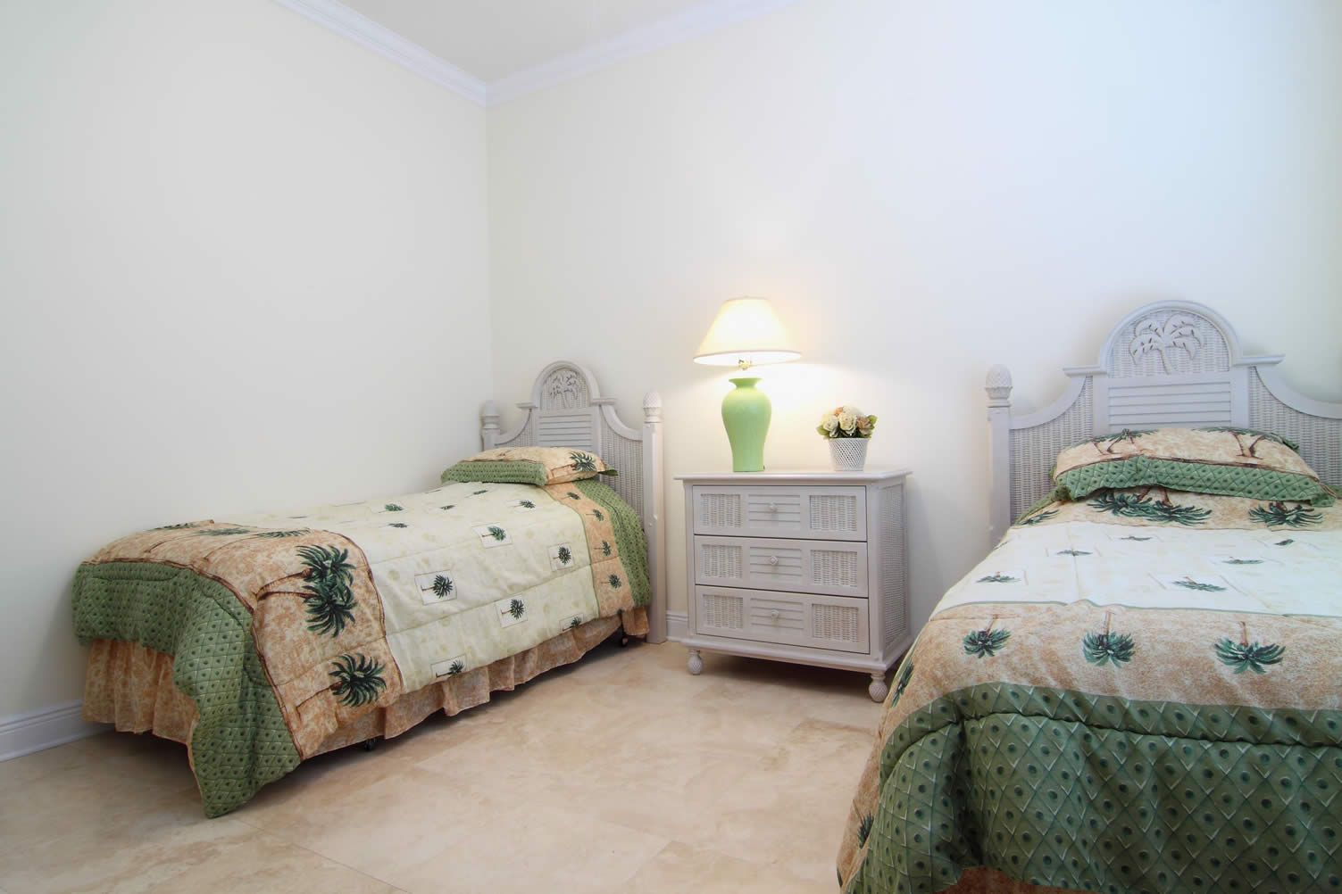basement bedroom space