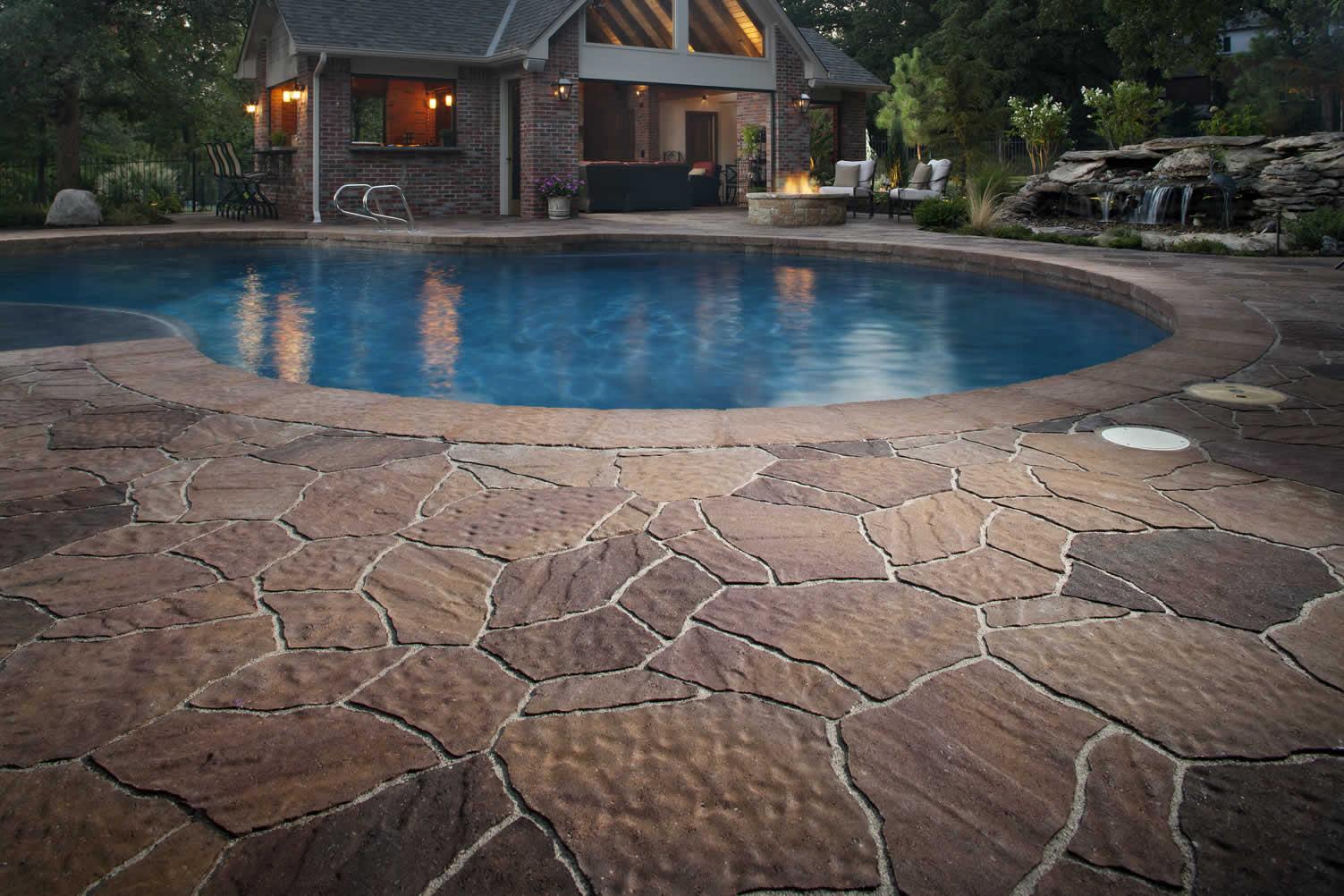 pool hardscape
