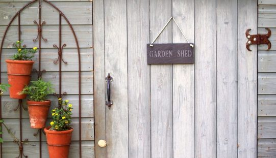 Using Your Garden Shed for Garden Things