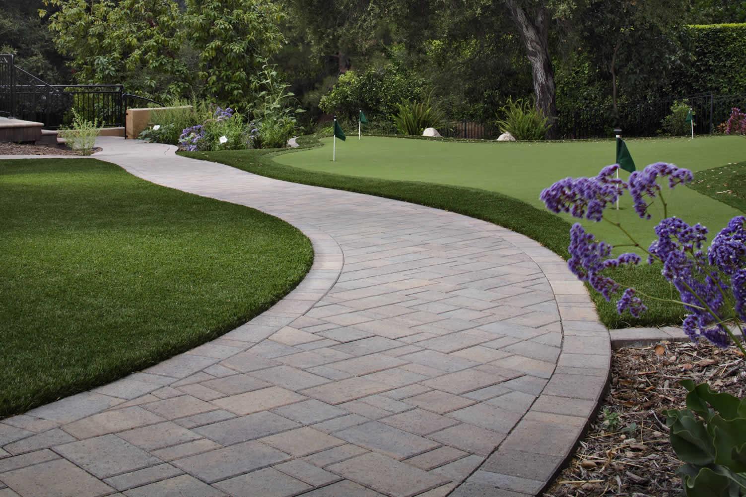 elegant walkway