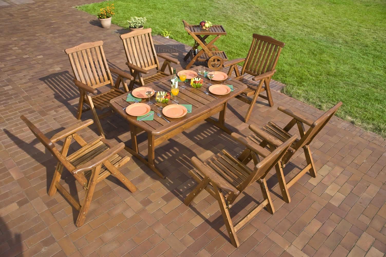 deck dining set