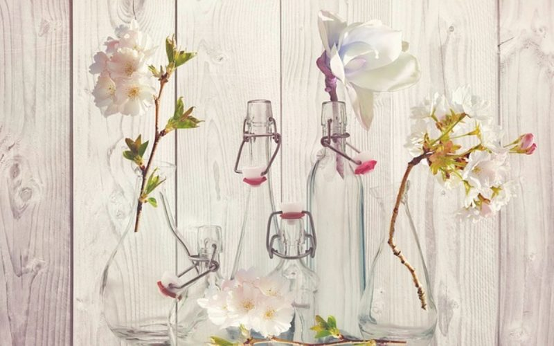 Something For the Outside – DYI Wall Floral Vases