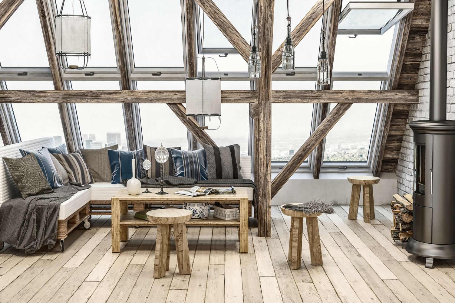attic space