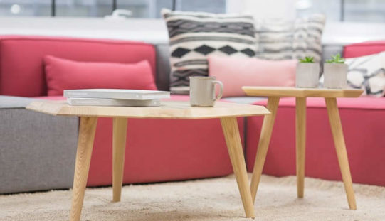 Using the Color Light Rose in Furniture Decor