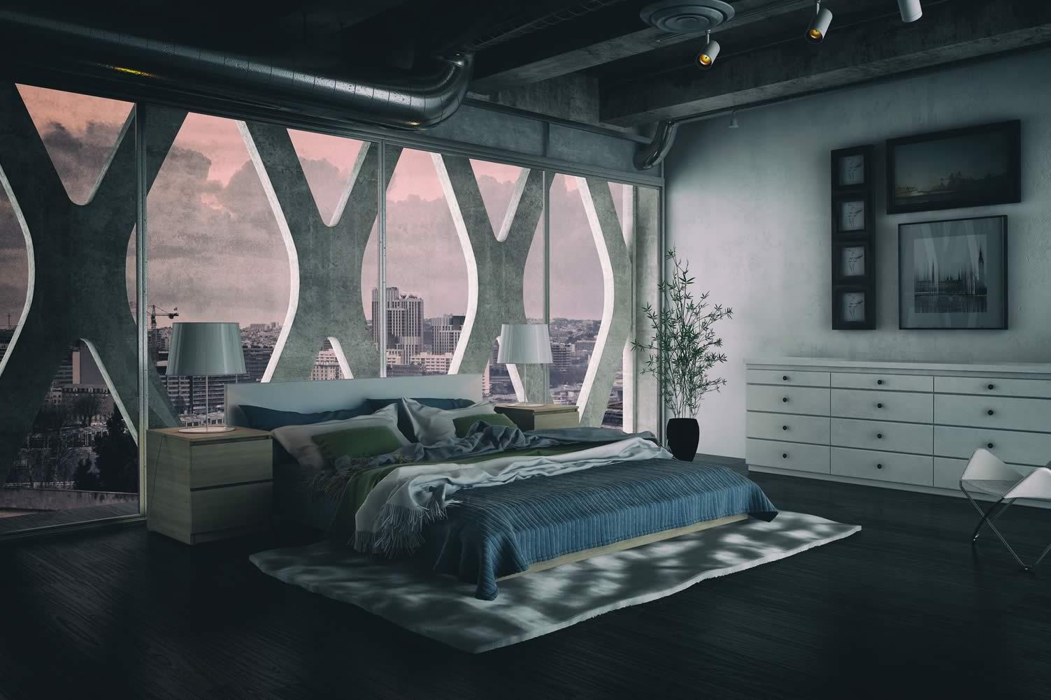 attic loft bedroom