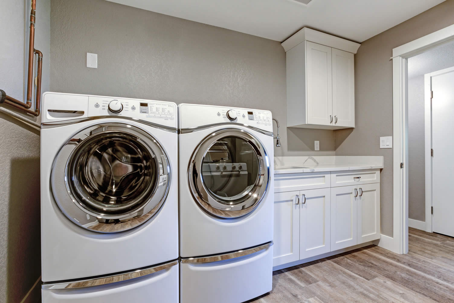 upgrading laundry room