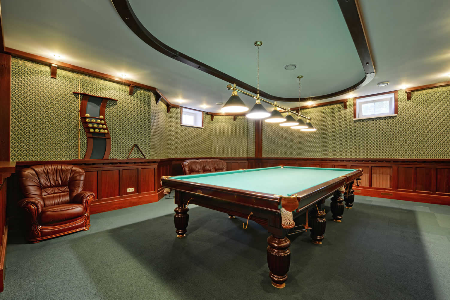 designing your billiard room