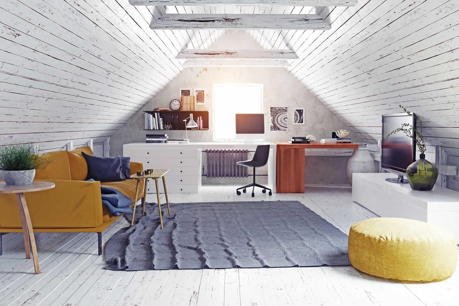 using attic space