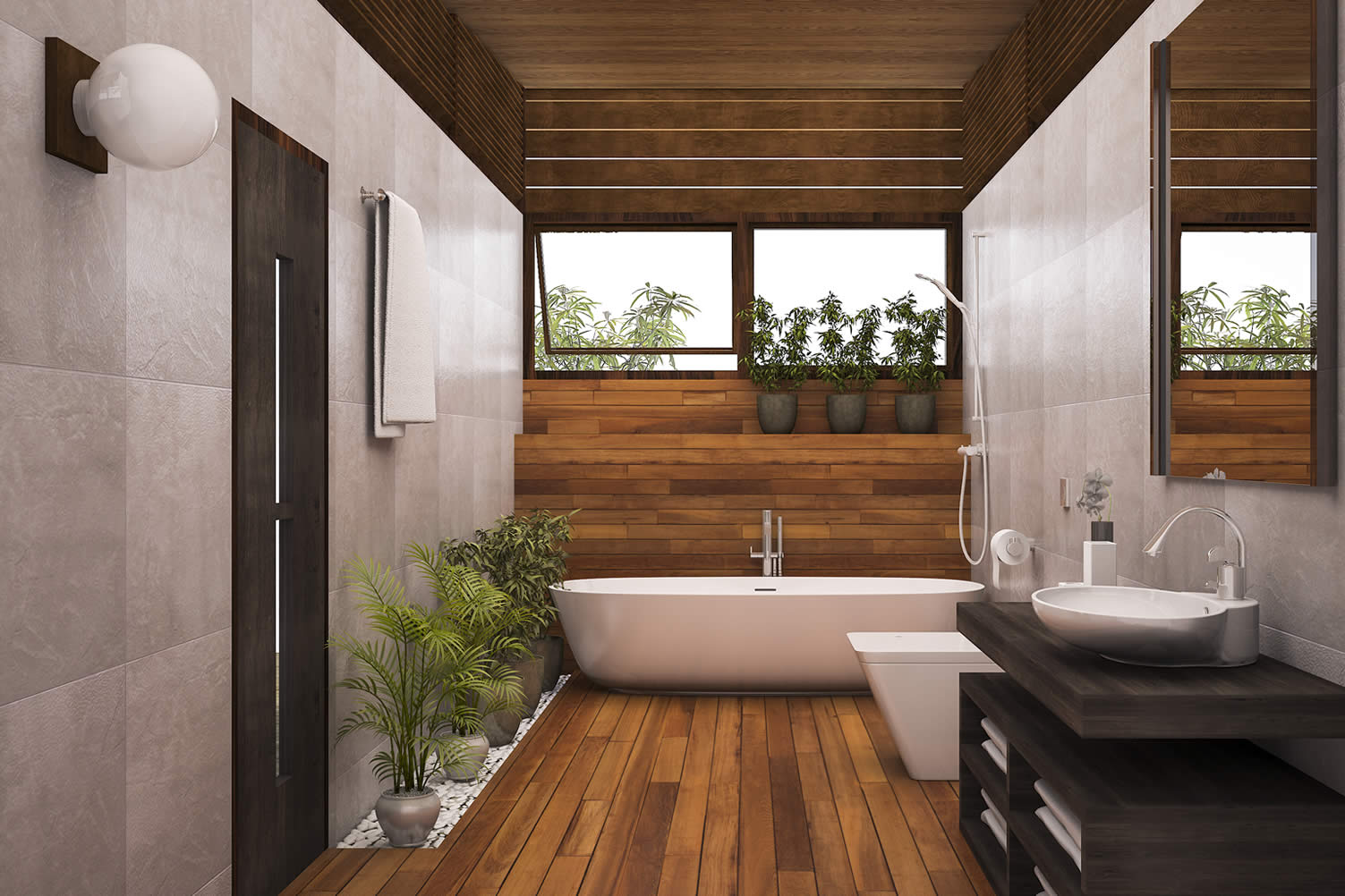 make your bathroom more inviting