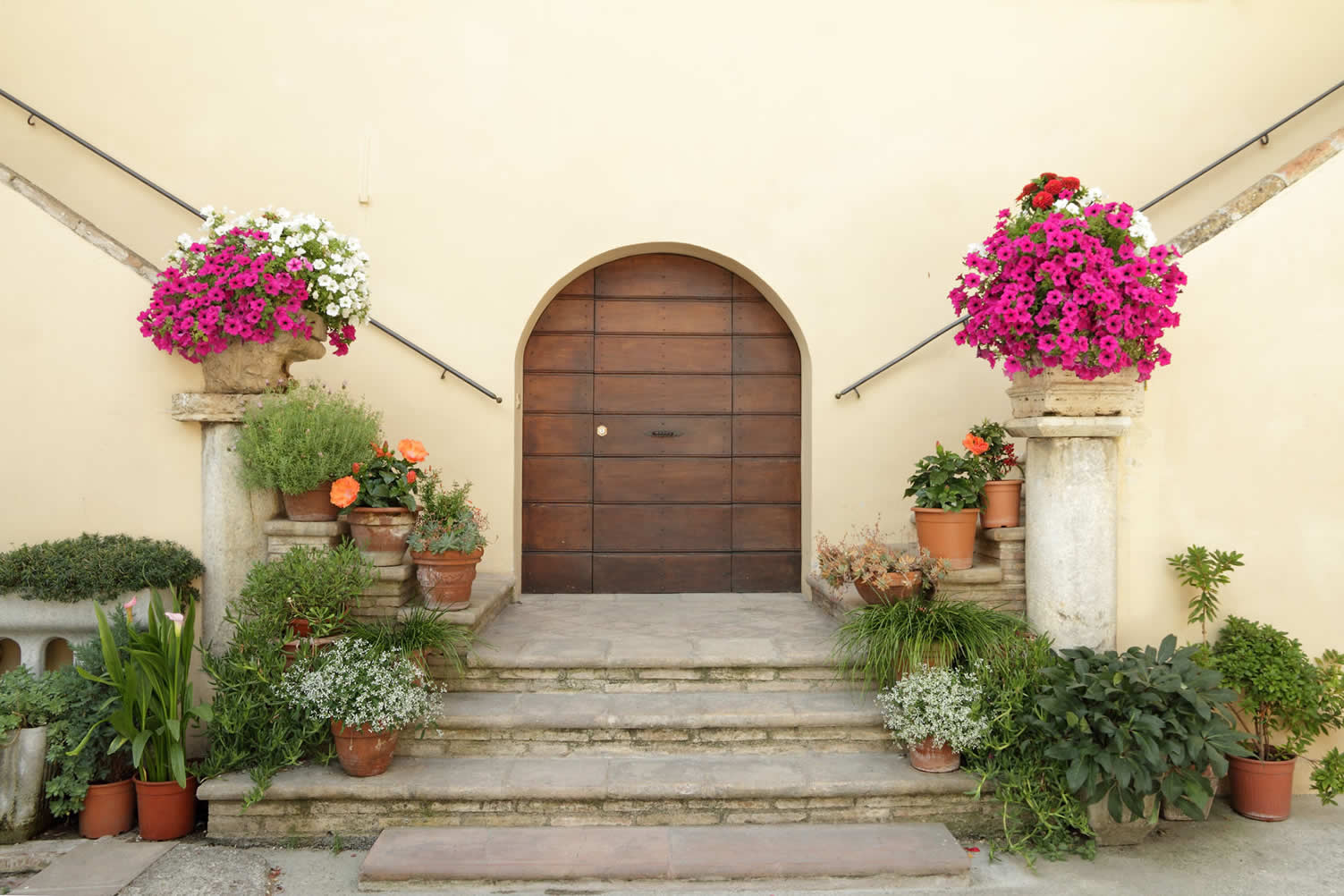 adding color to your porch